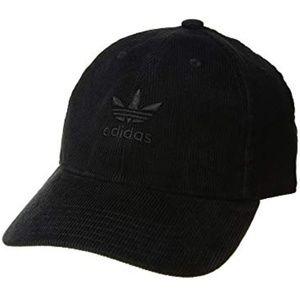 adidas Accessories - Adidas   Originals Relaxed Corduroy Black Cap 74399a2ff58